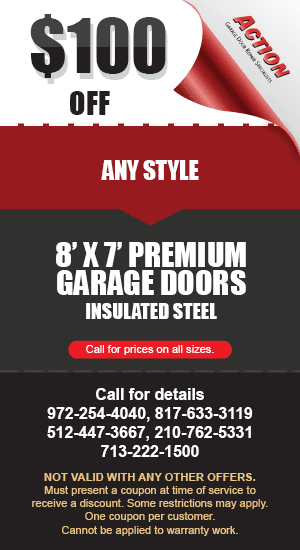 100 off 8 by 7 Premium Doors