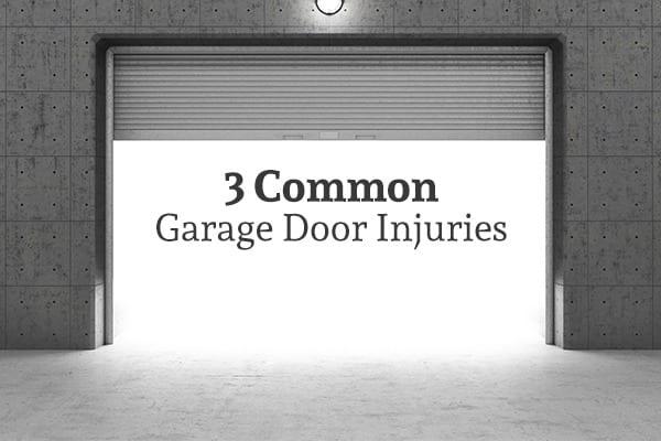 Common Garage Door Injuries Garage Door Safety Action