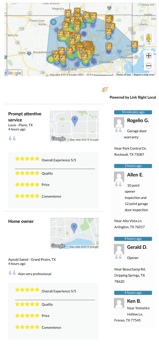 Reviews and Check-ins for Action Garage Door Repair