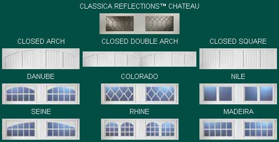 Classica Garage Door Windows