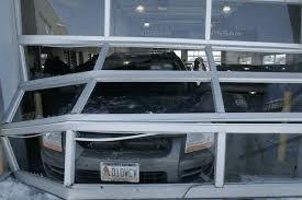 Commercial Garage Door Accident