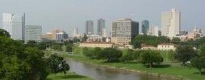 Fort Worth TX skyline