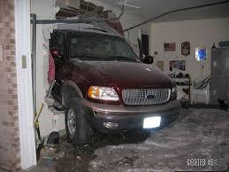 Garage Truck Accident