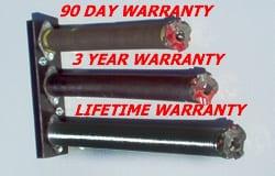 Spring Warranty Periods