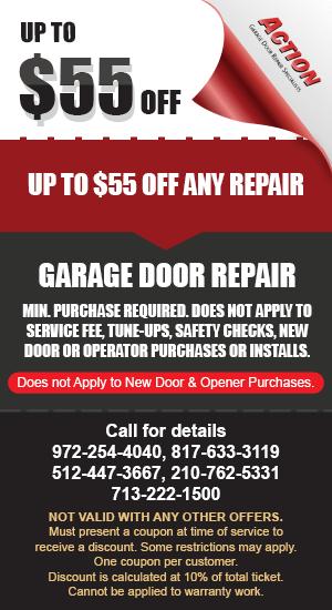 55 off Garage Door Repair