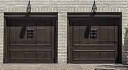 Action Garage Doors of Baytown Texas service, repairs, and installs two car wooden garage doors for the Houston metropolitan area