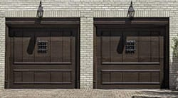 Action Garage Doors of Baytown Texas service, repairs, and installs two car wooden garage doors for the Houston metropolitan area