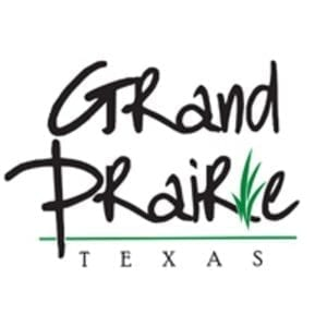 logo for the city of grand prairie tx
