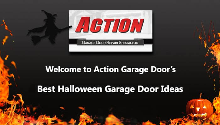 2018 Best Halloween Garage Door Ideas Action Garage Door