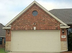 Residential Steel Garage Door Repair Install Waxahachie Tx