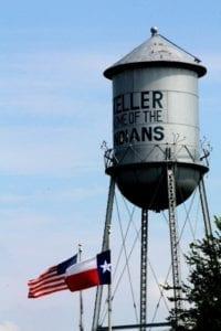Veterans Park in Keller TX