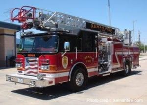 Kemah Fire Truck
