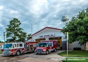 Lake Dallas Fire Station