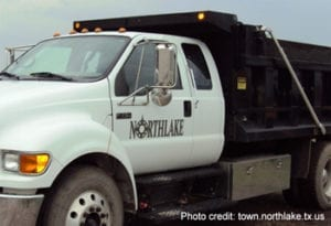 City Truck with Northlake written on the side