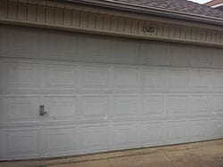 Good Action Garage Doors Was Assigned The Repair And Or Replace Of This Faded  Broken Residential Garage