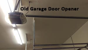 A beautiful residential home in Dallas Texas needing replaced by a new opener on a steel garage door by technician 2 of Action Garage Doors