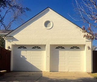 Action Garage Doors is the only choice for professional single car steel garage doors install and repair in Highland Park Texas