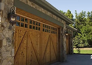 Residential steel and wood garage doors installation, repair, maintenance, and service in River Oaks Texas a suburb west of Fort Worth