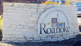 City Offices of Roanoke Texas a city that Action Garage Doors has been servicing with garage door repairs and install for decades