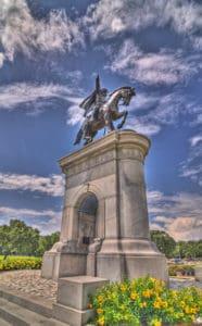 sam houston monument in houston tx