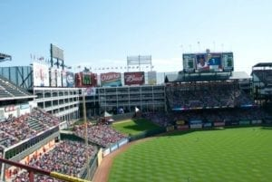 rangers ballpark in arlington, tx